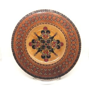 Romanian Wooden Hanging Plate
